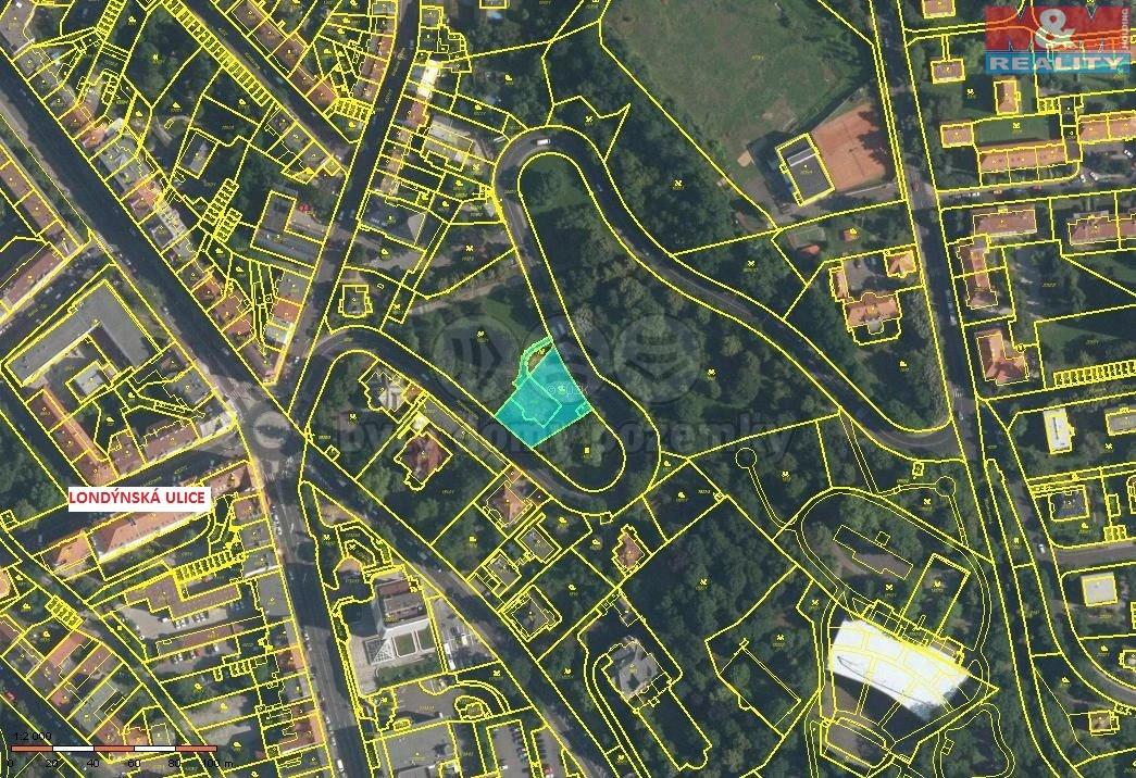 kat. mapka (Prodej, stavební parcela, 1234 m2, Ústí nad Labem), foto 1/11