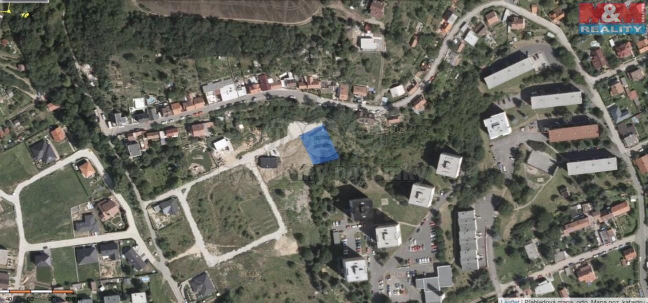 Pozemek_mapa (Prodej, stavební parcela, 795 m2, OV, Libčice nad Vltavou), foto 1/4
