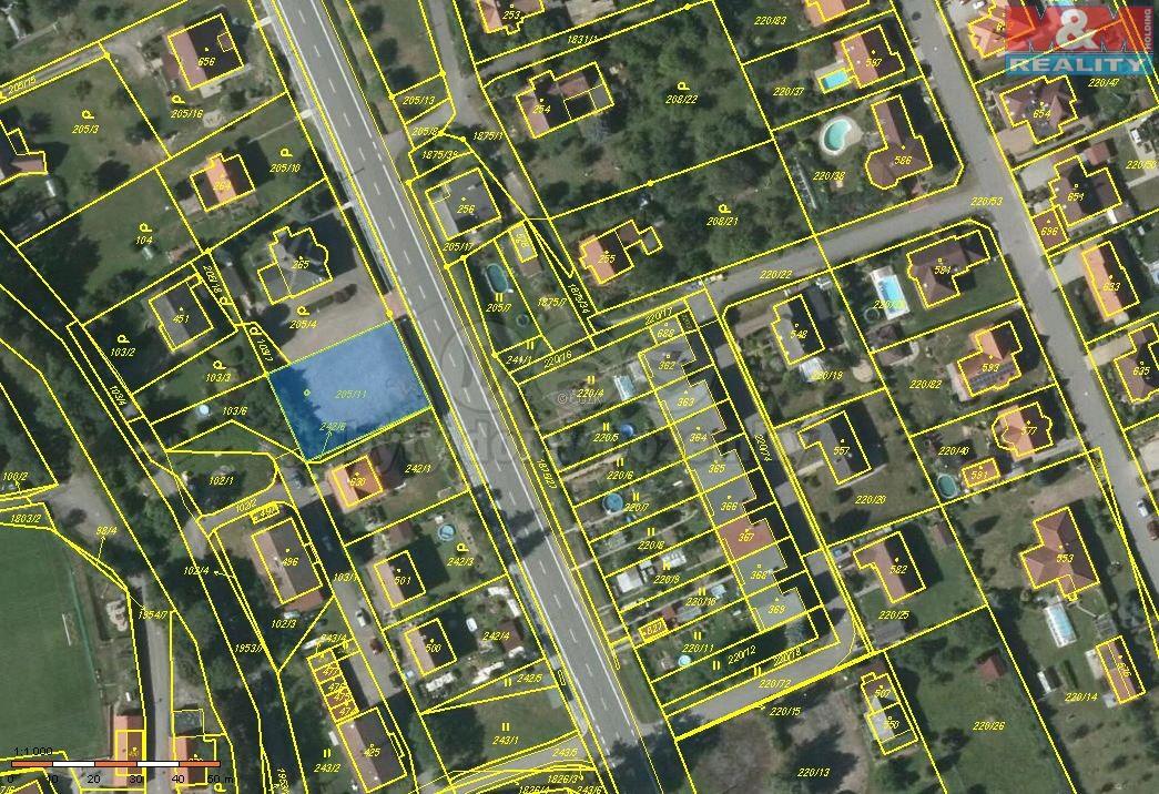 Pronájem, pozemek, 743 m2, Libchavy