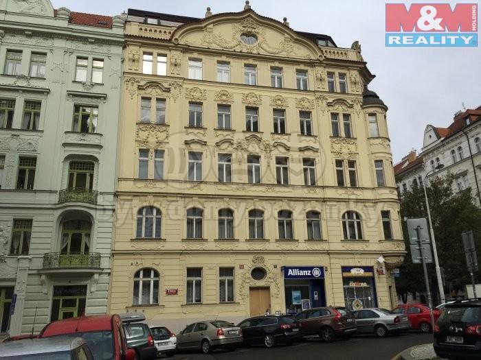 Dům (Pronájem, byt 2+1, 100 m2, Praha - Vinohrady, ul. Římská), foto 1/14
