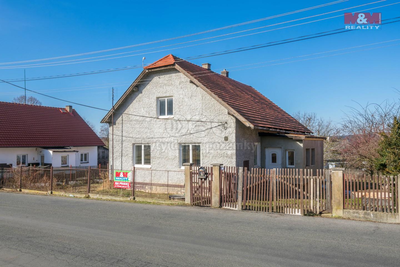 Prodej, rodinný dům 4+1, 743 m2, Plískov u Zbirohu