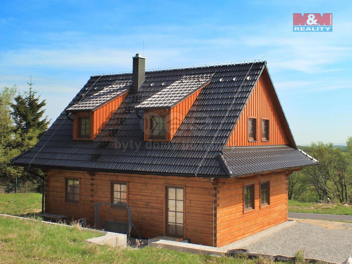 pohled na dům (Prodej, rodinný dům 4+kk, 1300 m2, Cínovec), foto 1/30