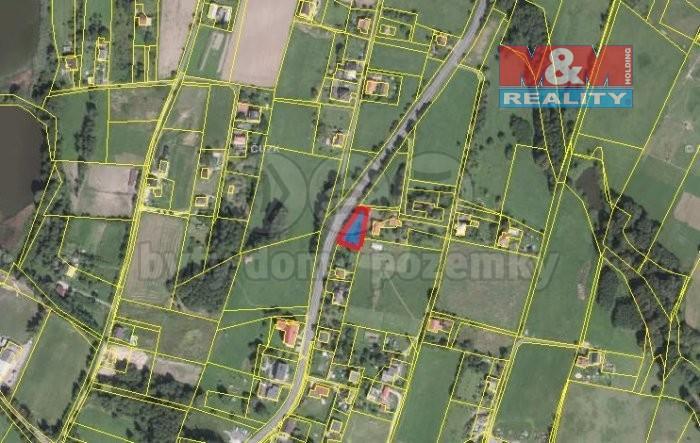 Prodej, stavební pozemek, 760 m2, Rychvald, okr. Karviná