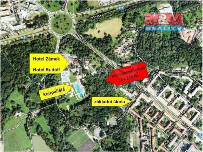 Prodej, komerční pozemek, 11216 m2, Havířov