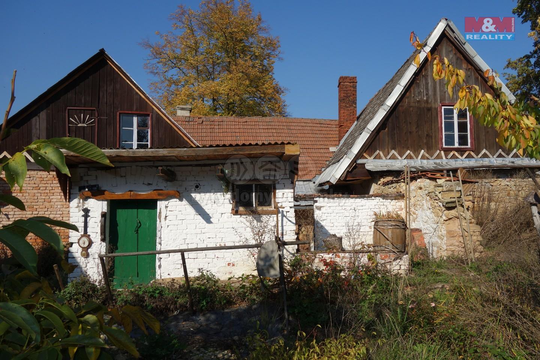 Prodej, chalupa 3+1, pozemek, 571 m2, Mladějov na Moravě