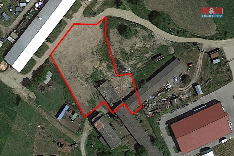 Prodej, komerční pozemek, 2800 m², Okrouhlo