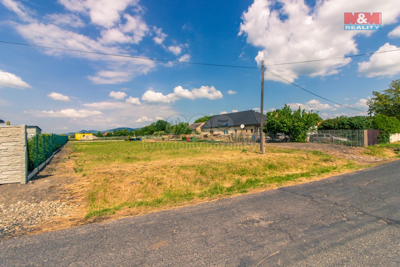 Prodej, Stavební parcela, 1044 m2, Lkáň