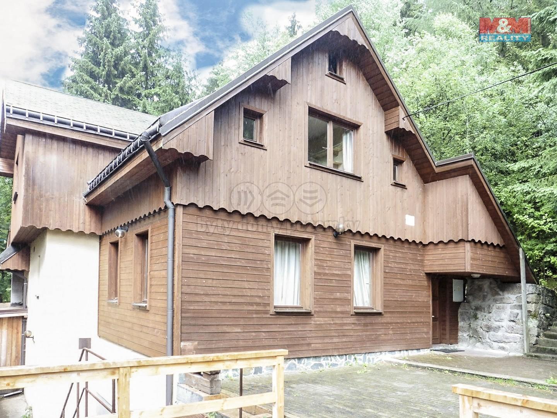 Pohled na dům (Prodej, dům, 297 m2, Jablonec nad Nisou - Desná), foto 1/30