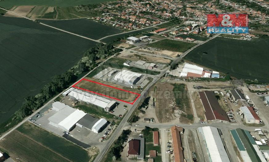 Prodej, komerční pozemek, 3970 m2, Moravany
