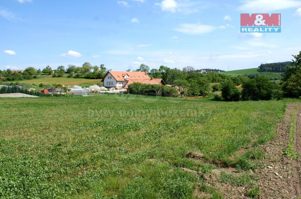 Prodej, stavební pozemek, 2137 m2, Drahonín