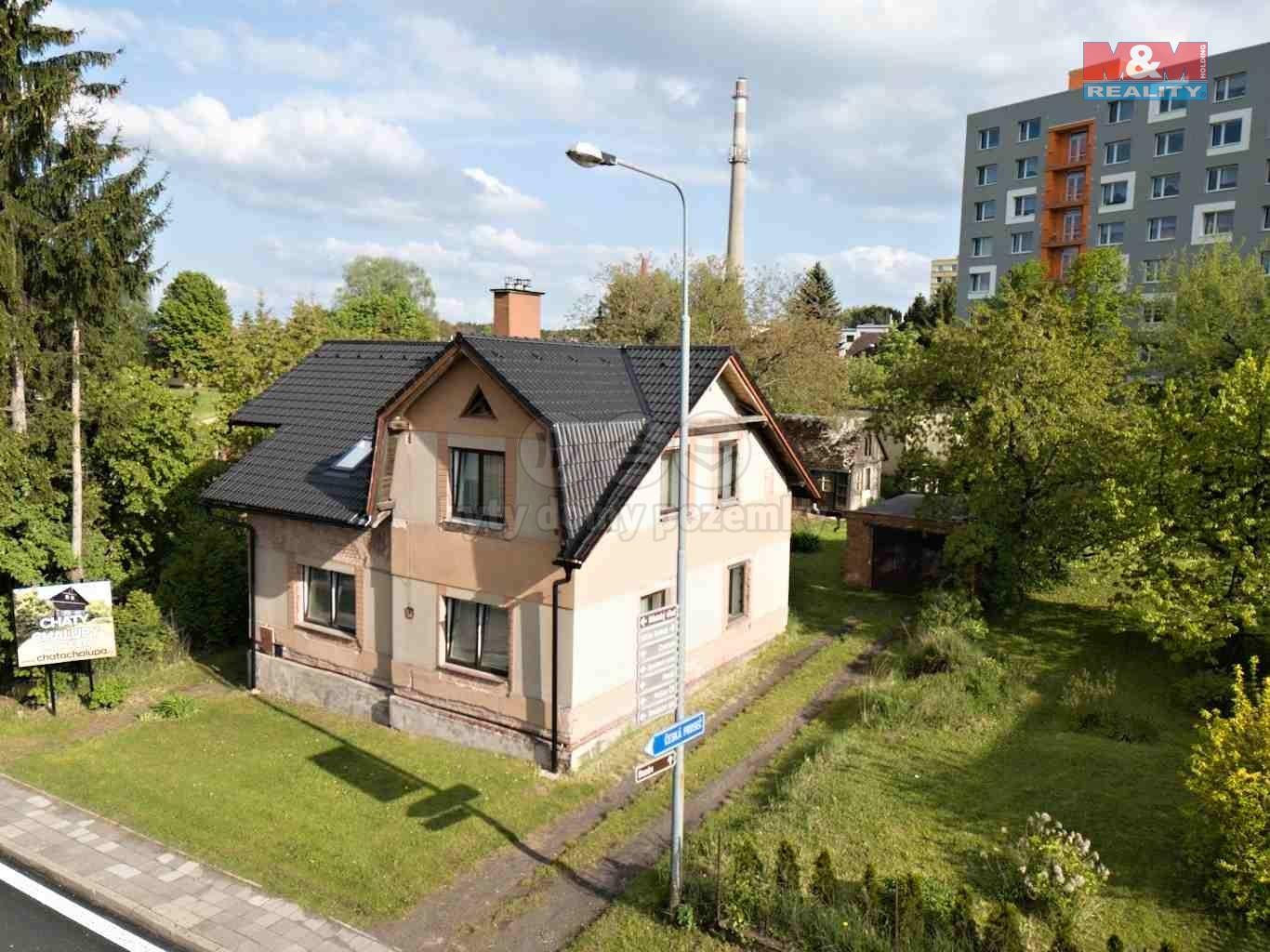 Prodej, rodinný dům 6+2, zahrada, 921 m2, Nová Paka