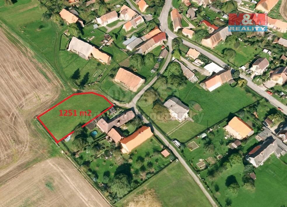 Prodej, pozemek, 1251 m2, Jarov