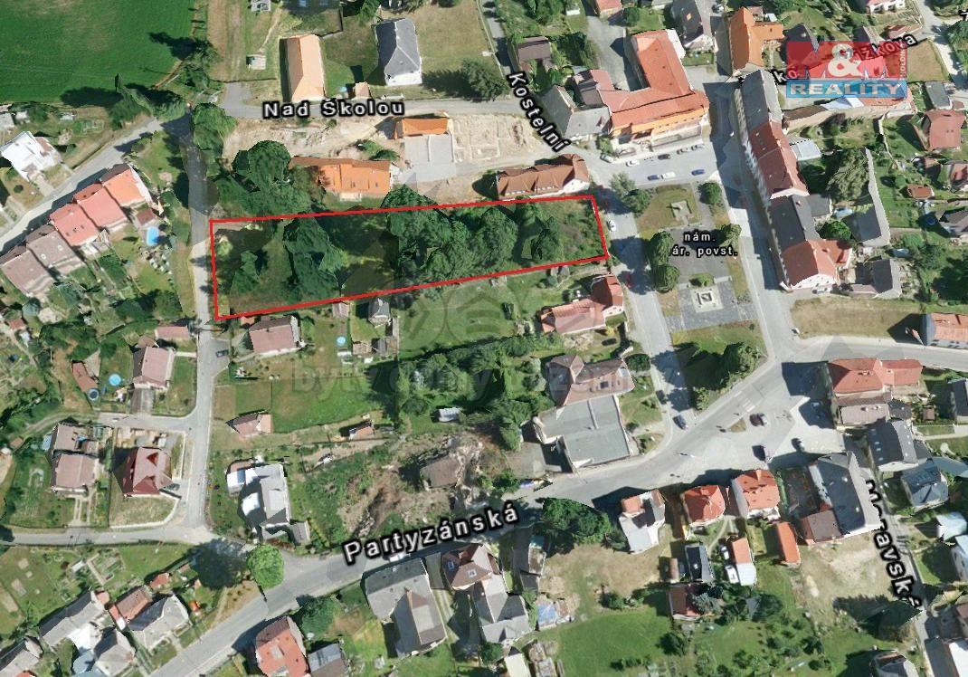 Prodej, stavební parcela, 4315 m2, Svratka