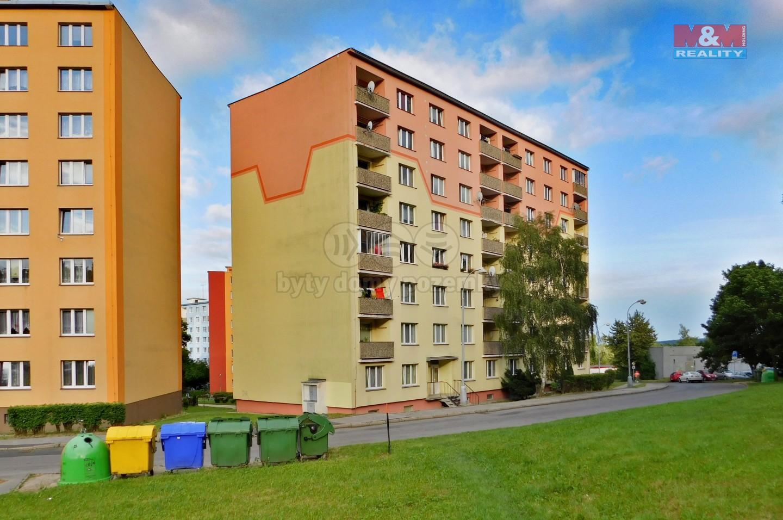 Pronájem, byt 1+1, 37 m2, DV, Chomutov, ul. Kamenná