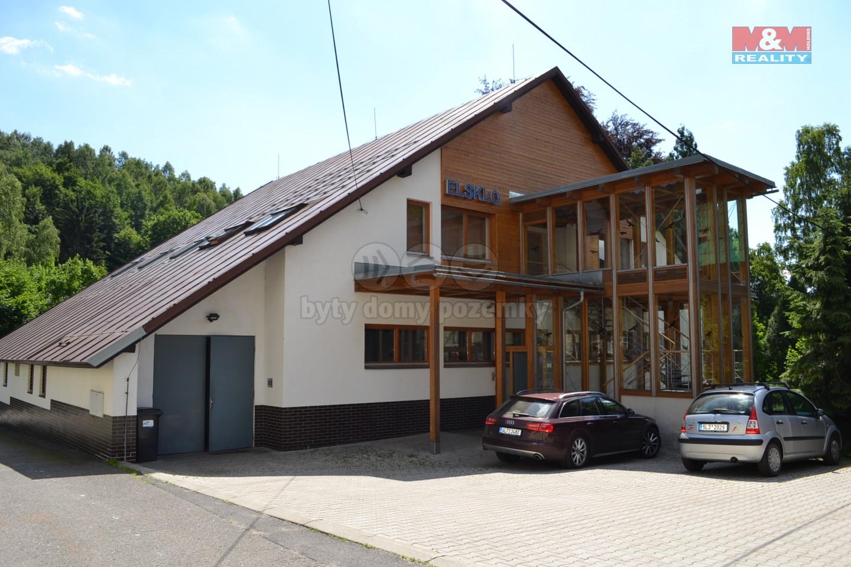 komerční objekt (Prodej, výrobní objekt, 2466 m2 , Desná, ul. Údolní), foto 1/26