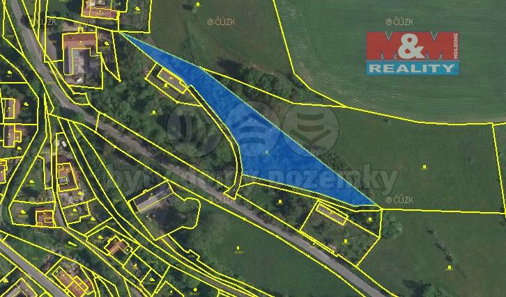 Prodej, pozemek, 4275 m2, Čistá u Litomyšle