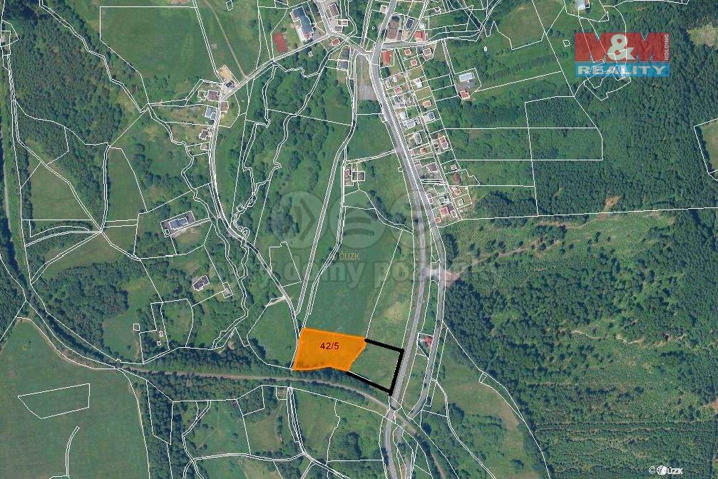 Prodej, louka, 12671 m2, Železná Ruda-Špičák