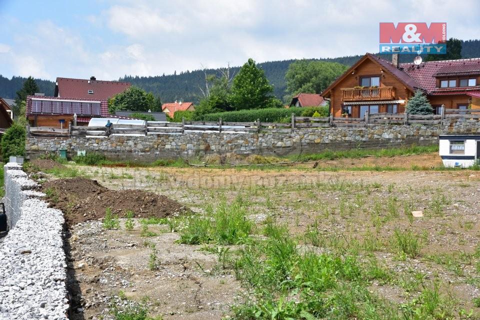 Prodej, stavební pozemek, 1642 m2, Český Krumlov - Vyšný