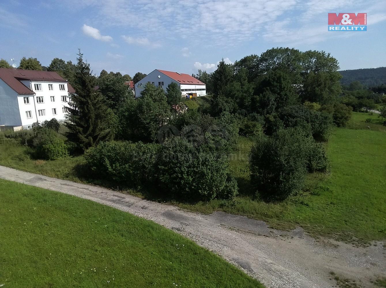 (Prodej, stavební pozemek,1024 m2, Vyšší Brod - Studánky), foto 1/17