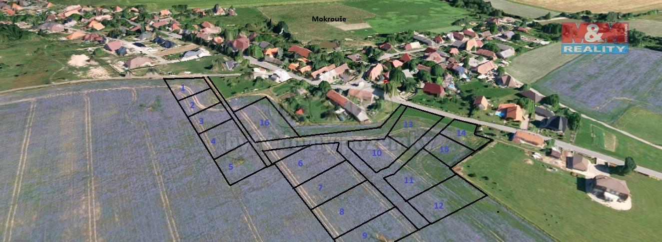 Prodej, stavební pozemek, 15 130 m2, Tymákov - Mokrouše