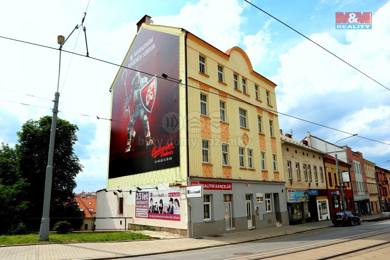 Pronájem, nebytové prostory, 320 m2, Plzeň, ul. Mikulášská