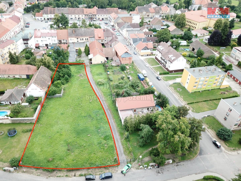 Prodej, pozemek, 2450 m2, Mirovice