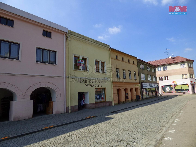 Prodej, nájemní dům, Brušperk, ul. náměstí J. A. Komenského