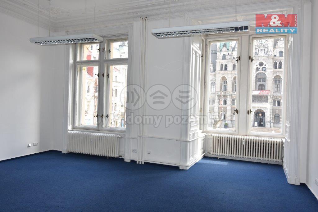Pronájem, kanceláře, 72.5 m2, Liberec, nám. Dr. E. Beneše