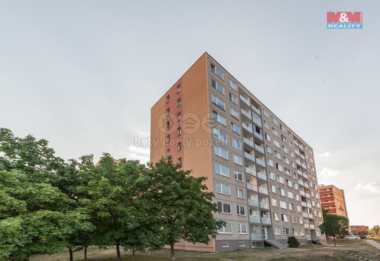 Pohled na dům (Pronájem, byt 3+kk, 63 m2, Praha 9 - Černý Most), foto 1/10