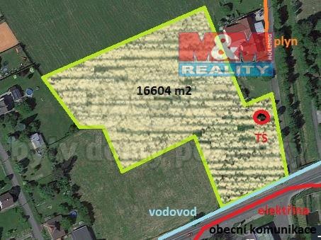 Prodej, pozemek, 16604 m2, Frýdek - Místek