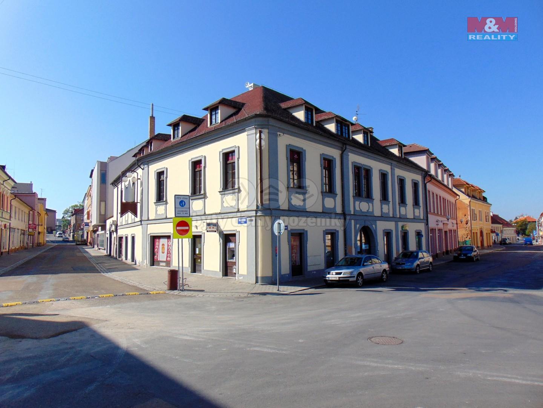 (Prodej, nájemní dům, 1314 m2, Rokycany, ul. Palackého), foto 1/24