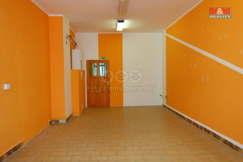 Pronájem, komerční prostory, 38 m2, Svitavy, náměstí Míru
