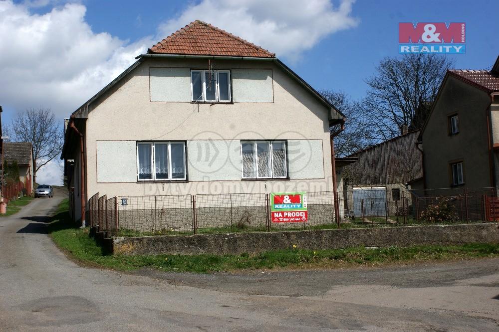 Prodej, rodinný dům 3+1, 820 m2, Křídla