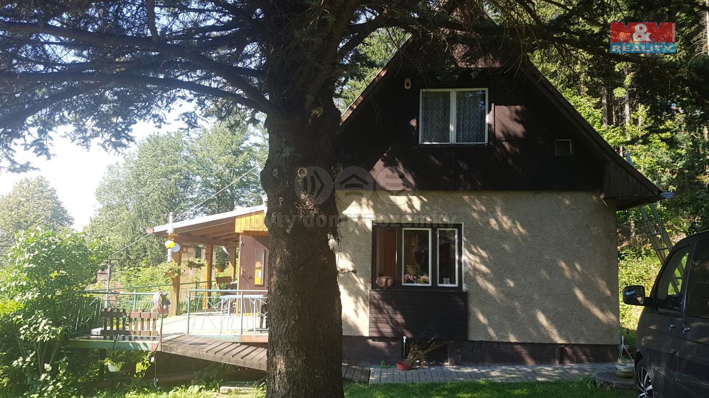 Prodej, chalupa, 78 m2, Čeladná, pozemek, 1350 m2