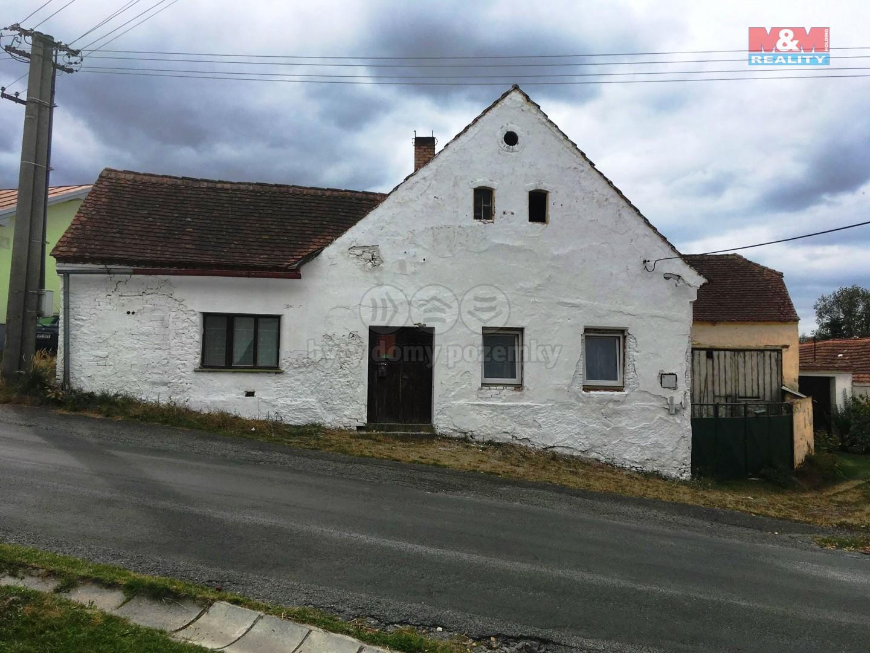 Prodej, rodinný dům, 2+1, 80 m2, Třebomyslice u Horažďovic