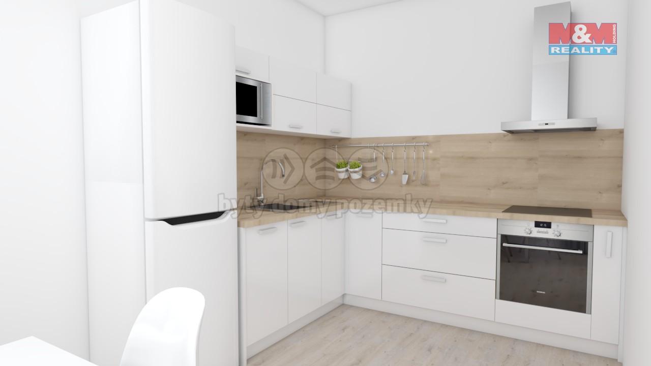 Prodej, byt 2+1, 63 m2, Zlín