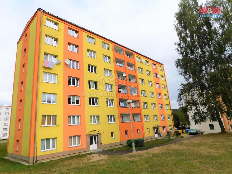 Prodej, byt 1+1, 37 m2, OV, Rotava, ul. Sídliště