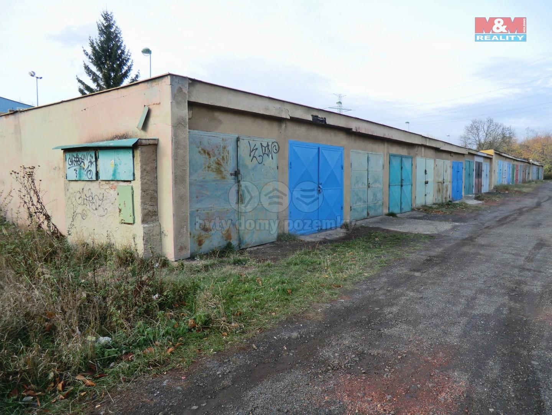 Prodej, garáž, 22 m2, OV, Kadaň, ul. Chomutovská