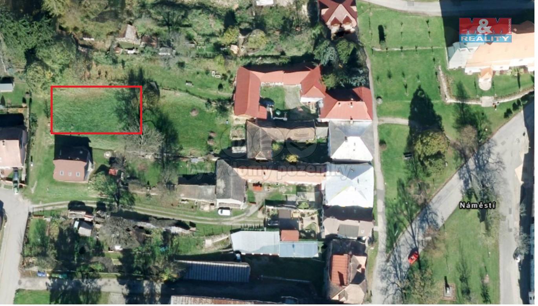 Prodej, stavební pozemek, 855 m2, Horní Planá