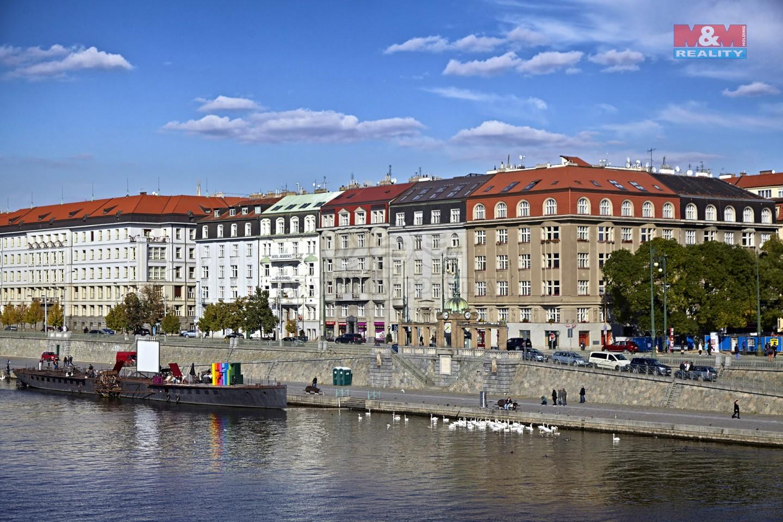 Pronájem, byt 4+1, 183 m2, Praha 2 - Nové Město