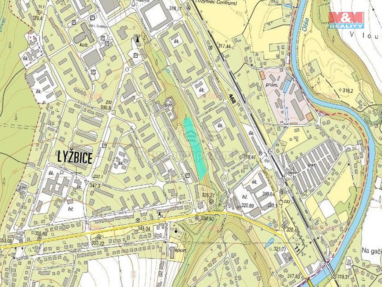 Prodej, pozemek, 9272 m2, Třinec - Lyžbice
