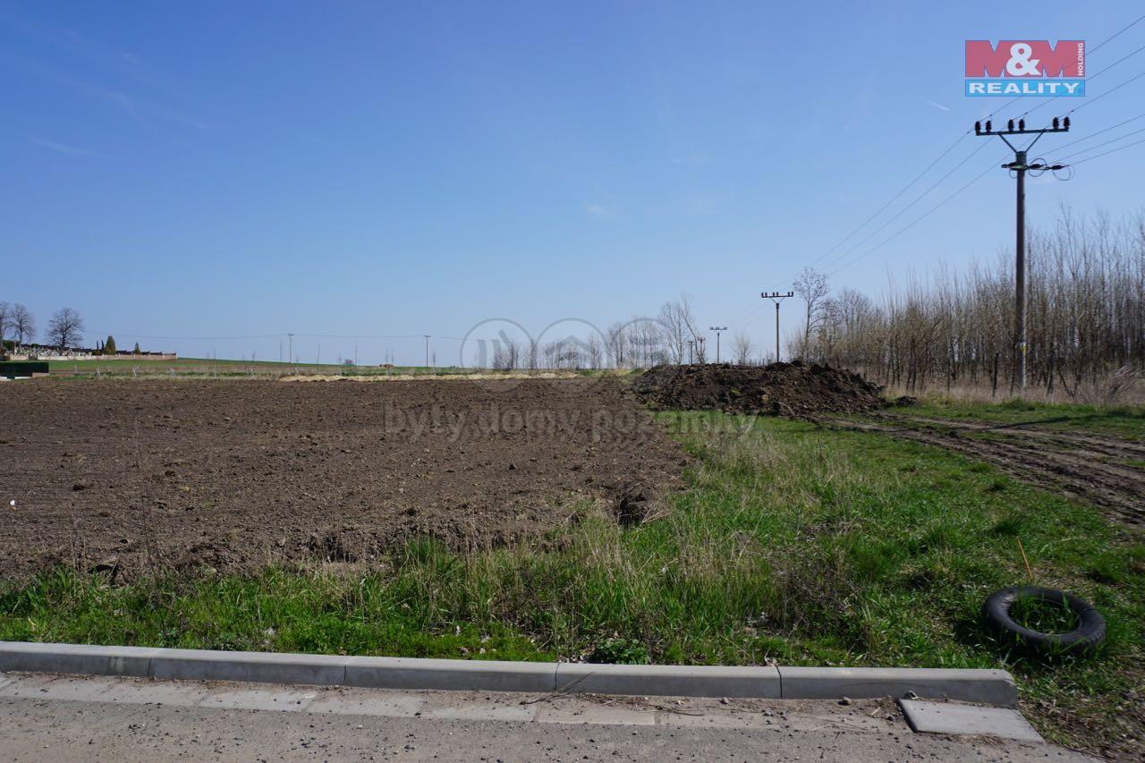 Prodej, stavební parcela, 1891 m2, Mikulovice,
