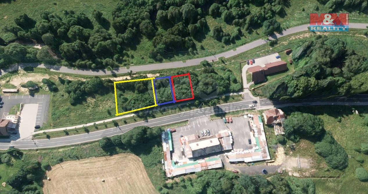 Prodej, stavební parcela,1218 m2, Železná Ruda