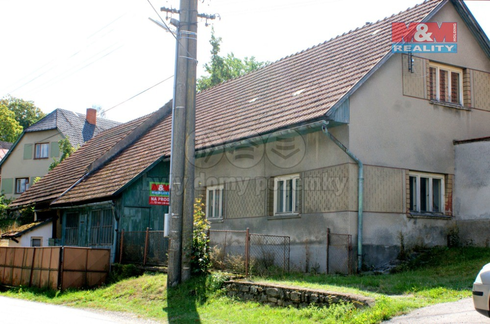 Prodej, rodinný dům 3+1, 549 m2, Radešínská Svratka