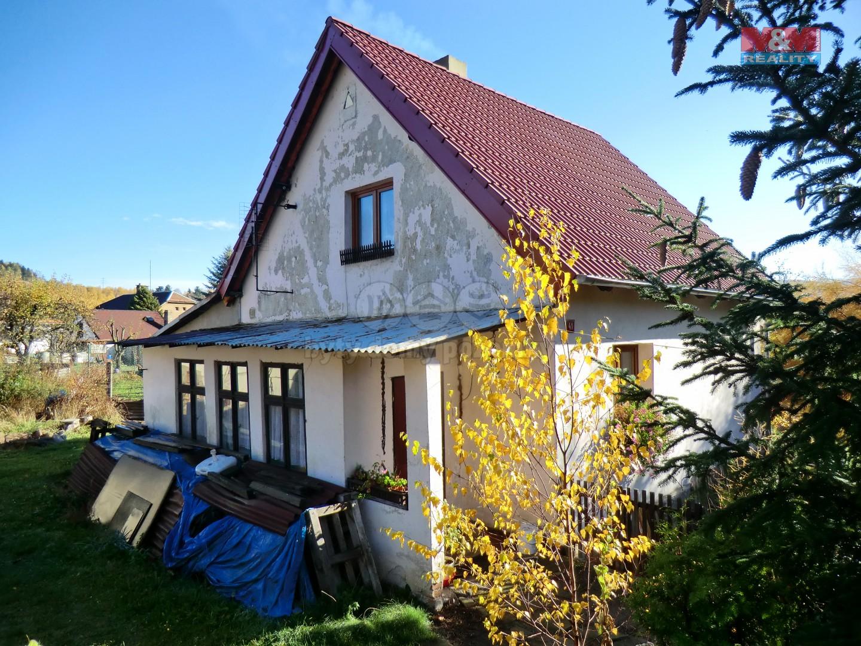 Pohled na dům (Prodej, rodinný dům, 286 m2, Perštejn - Lužný, okr. Chomutov), foto 1/16