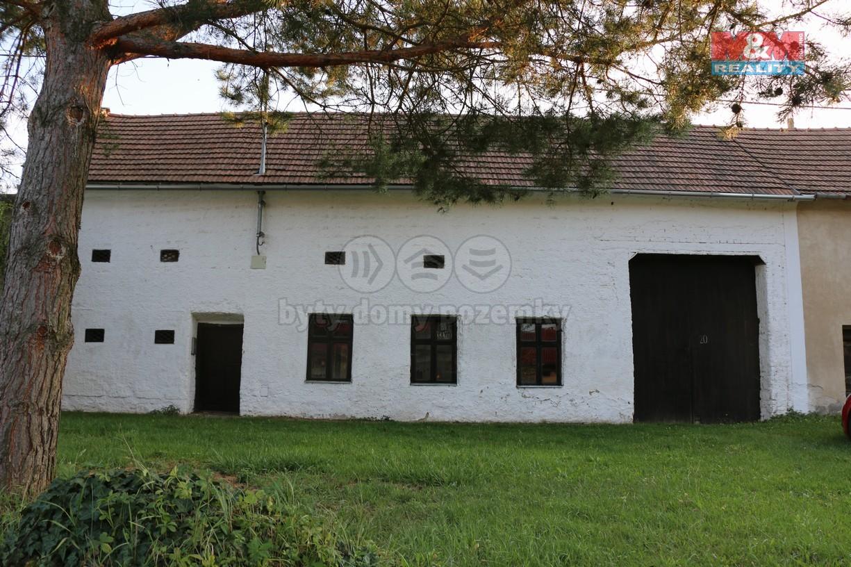 Prodej, rodinný dům 2+1, 1466 m2, Zlámanka