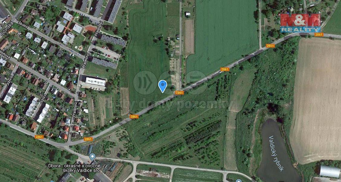 Mapa (Prodej, pozemek, 12369 m2, Valdice - Jičín), foto 1/12