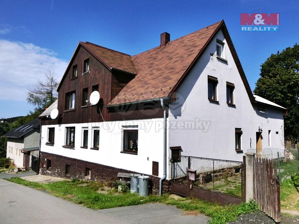 Prodej, rodinný dům 5+1, Vejprty, ul. Podlesí