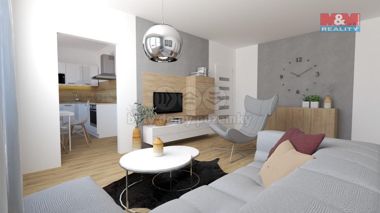 Prodej, byt 3+1, 61 m2, Přerov, ulice Interbrigadistů