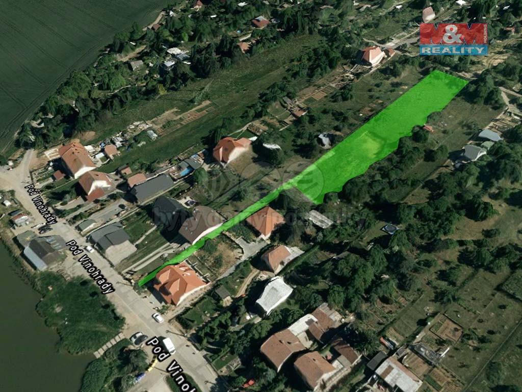 Prodej, stavební pozemek, 3239 m2, Popůvky u Brna